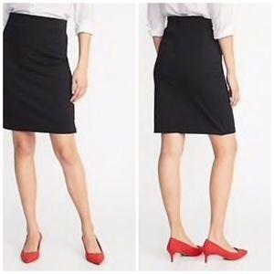 🍁Old Navy Black Pencil Skirt for Women-Sz Lg🍁